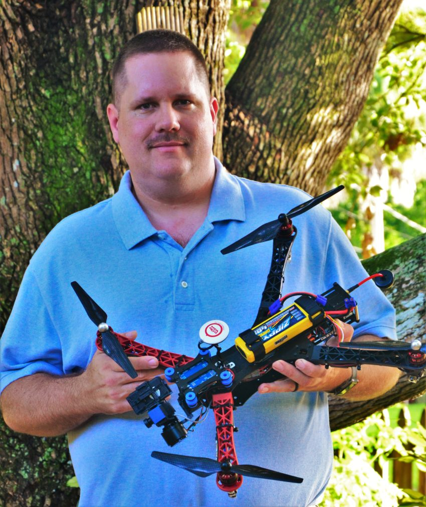 mike uleski drone flight instructor for dartdrones in florida