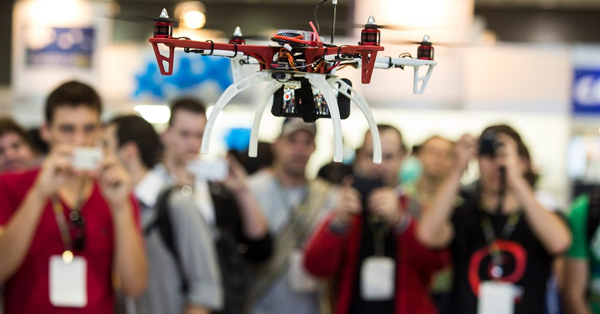 Top Commercial Drone Conferences and Expos for 2017 - DARTdrones