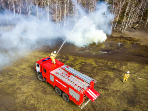 Journalism drones could revolutionize fire coverage.