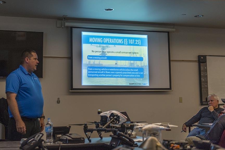 in-person drone pilot training course