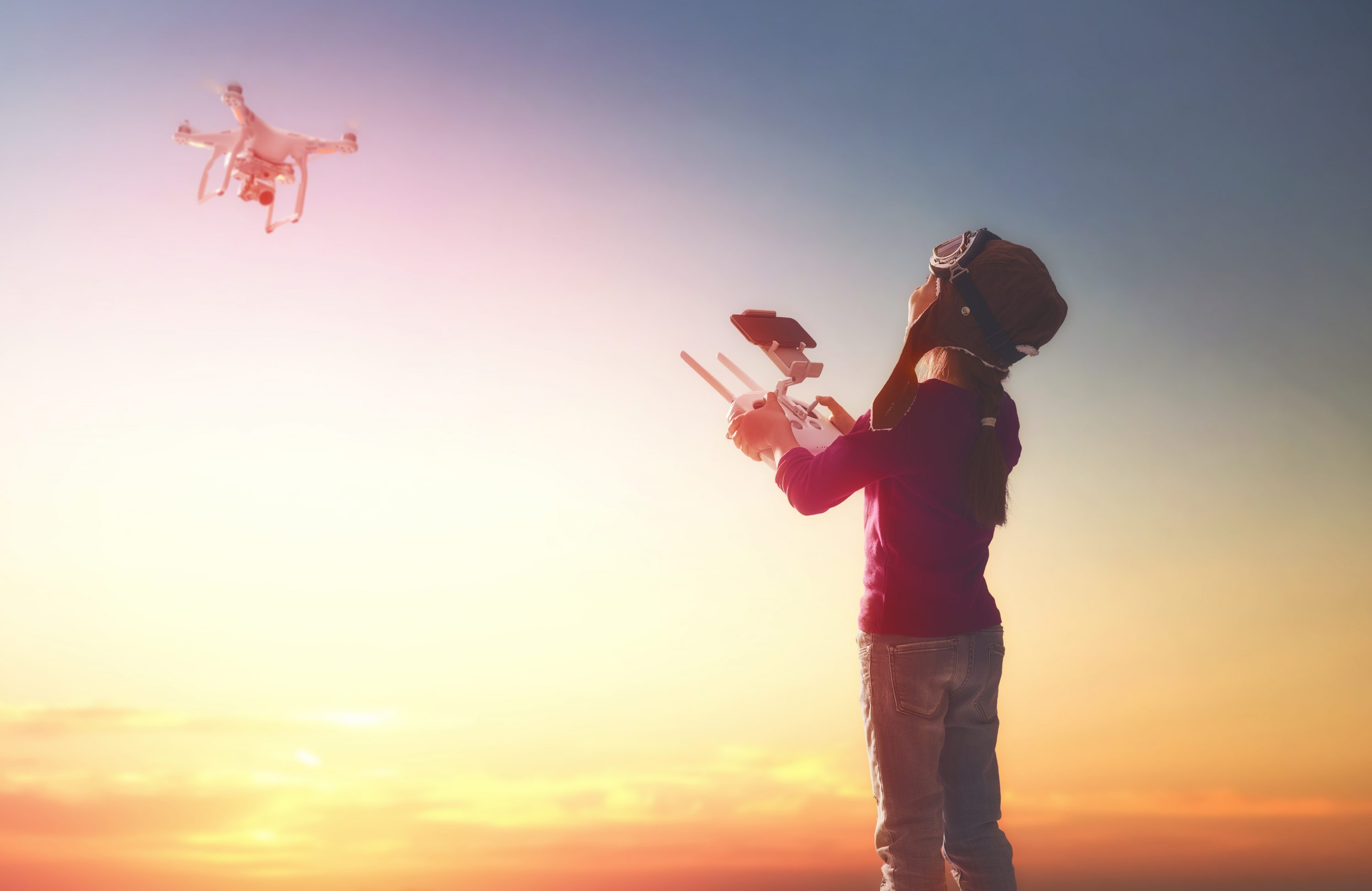 Can kids use drones?