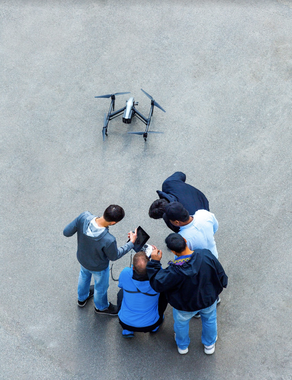 Drones in security industry